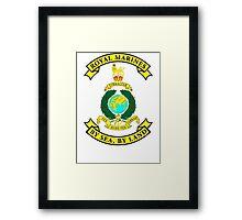 Royal Marines Framed Print