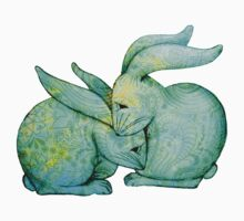 'Cuddly Bunnies - Green' by STUDIO 88 STRATFORD TARANAKI NZ