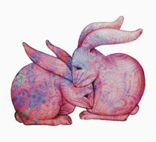 'Cuddly Bunnies - Pink' by STUDIO 88 STRATFORD TARANAKI NZ