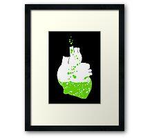 heart of the irish Framed Print