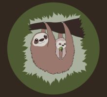 Sloth Mama and Baby T-Shirt