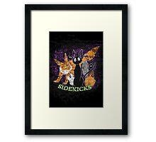 Sidekicks Framed Print