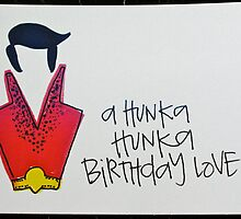 Hunka Birthday Love Postcard by xolp
