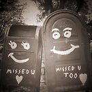 i miss you mailboxes by asyrum