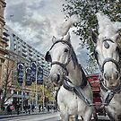 Swanston Street by Heather Prince ( Hartkamp )