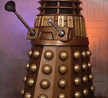 Gold Dalek from Doctor Who by ChrisBalcombe
