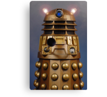 Doctor Who Gold Dalek Canvas Print