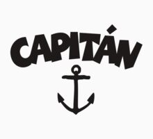 Capitán anchor by theshirtshops