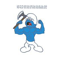 Smurfarian berserks your iphones and ipods! by Sorazal