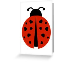 ladybug love. Greeting Card