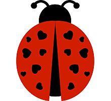 ladybug love. Photographic Print