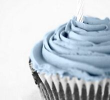 CupCake Blue by MarieDw