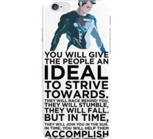 Superman Typography Part 2 iPhone Case/Skin