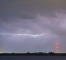 Lightning Bolting Across the Sky by Bo Insogna