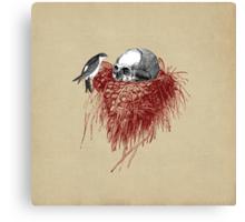 CANTO DE GOLONDRINAS COMO METAL CRUDO (vr.4) Canvas Print