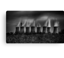 Power and Pollution Canvas Print