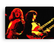 Led Zeppelin - Digital Painting Canvas Print