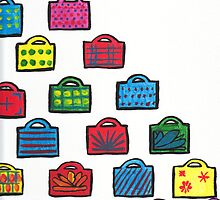 Handbag Heaven painting by Fangpunk