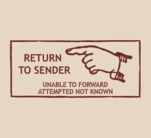 Postage Stamp. Return to Sender by green52