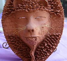 Ruth King - Garden Masks & Planters #2 of 4 by seeingred13