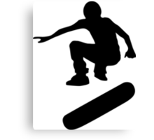 skateboard : silhouettes (SMALL) Canvas Print