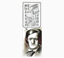 Hipster Richard Wagner by ZoBo