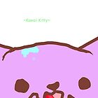 Kawaii Kitty Poster by Bubblegum223