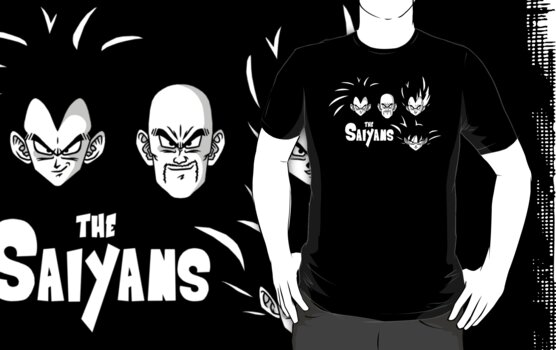 The Saiyans by Baznet