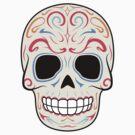Sugar Skull Warmer Colors~ Sticker by hmx23