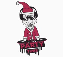 Santa Claus Party Time DJ by Style-O-Mat