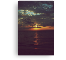 As Day Turns to Night Canvas Print