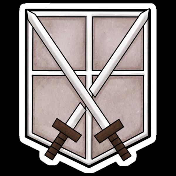 Shingeki no Kyojin - Trainee emblem by Vanesa Aguilar