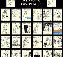 The Neurotic Owlphabet by neuroticowl
