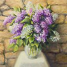 Still life with lilacs by kirilart