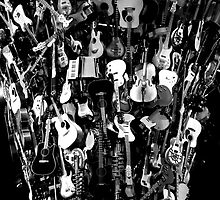 Tornado of Guitars by PenguinPlot