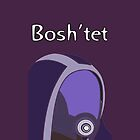 Tali'Zorah Bosh'tet iPhone Case by ArseFace