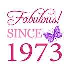 Fabulous Since 1973 by thepixelgarden