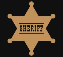 Sheriff's Star by MrFaulbaum