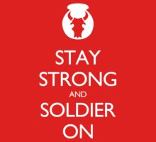 Stay Strong by DajonSmiles
