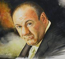 Goodbye Tony (James Gandolfini 1961 - 2013) by Jan Szymczuk