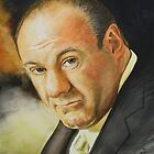 Goodbye Tony (James Gandolfini 1961 - 2013) - cropped by Jan Szymczuk
