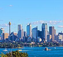 Sydney City Scape by Stephanie Jensen