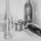 Still Life with Bottles by ochre67