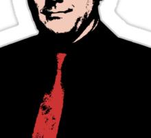 Crowley - Hello boys with banner Sticker