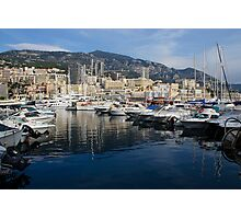 Postcard from Monte Carlo Photographic Print