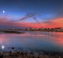 Ilha de Faro Sunset by manateevoyager