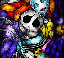 Jack Skellington & Sally Figurine by Electraa