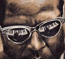 Thelonious Monk by Alexander Bowden