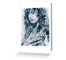 Jimmy Page Greeting Card