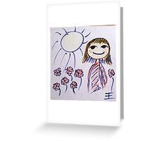 Dont worry be happy Greeting Card